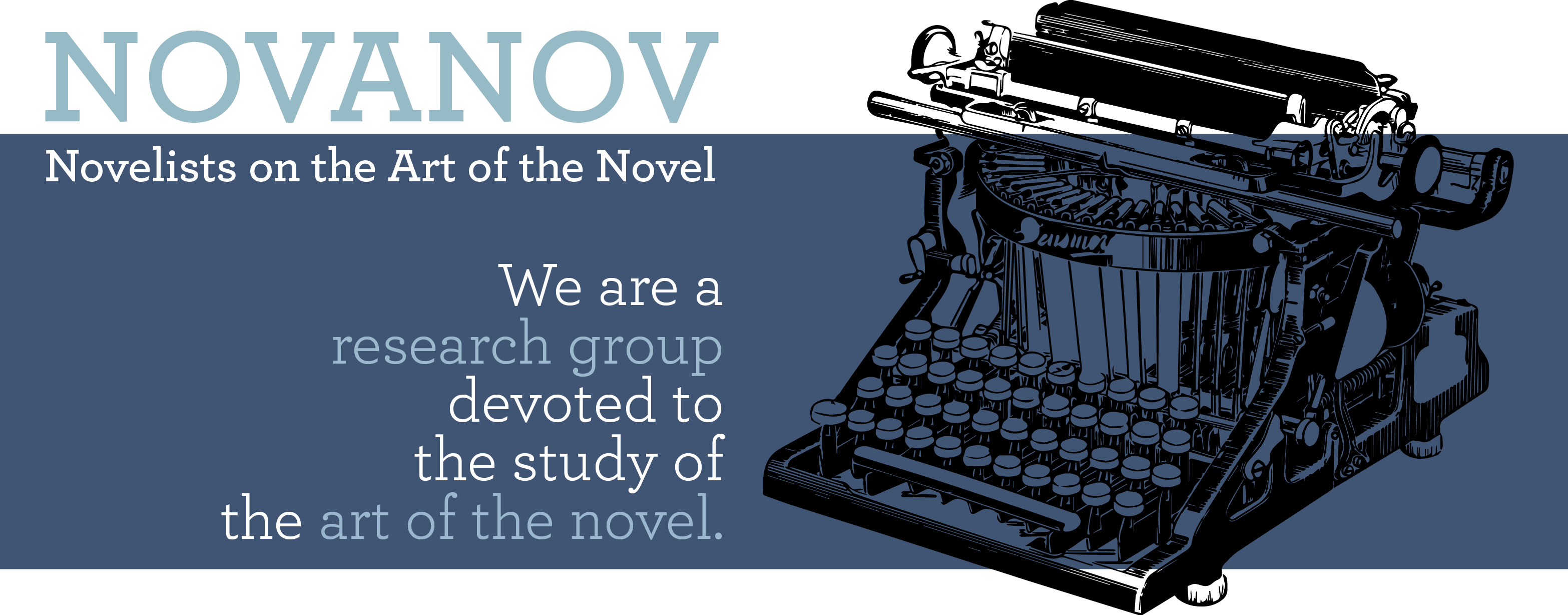 NOVANOV - Novelists on the Art of the Novel